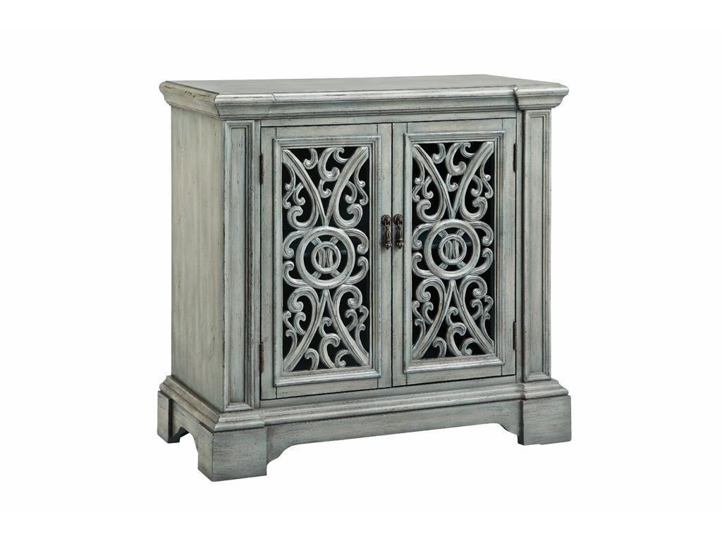 Stein World Cabinets 2 Carved Door Accent Cabinet