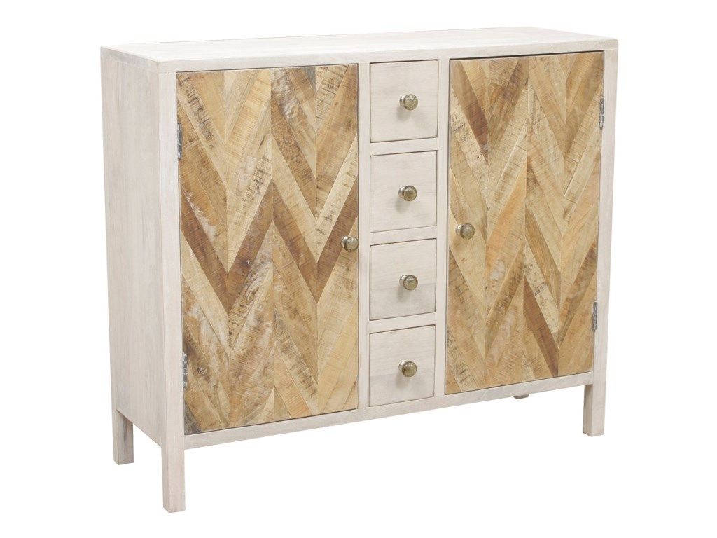Cabinets Derron Two Door Cabinet With Four Small Drawers Morris