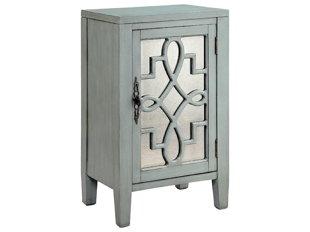 Morris Home CabinetsLeighton 1-Door Cabinet Grey