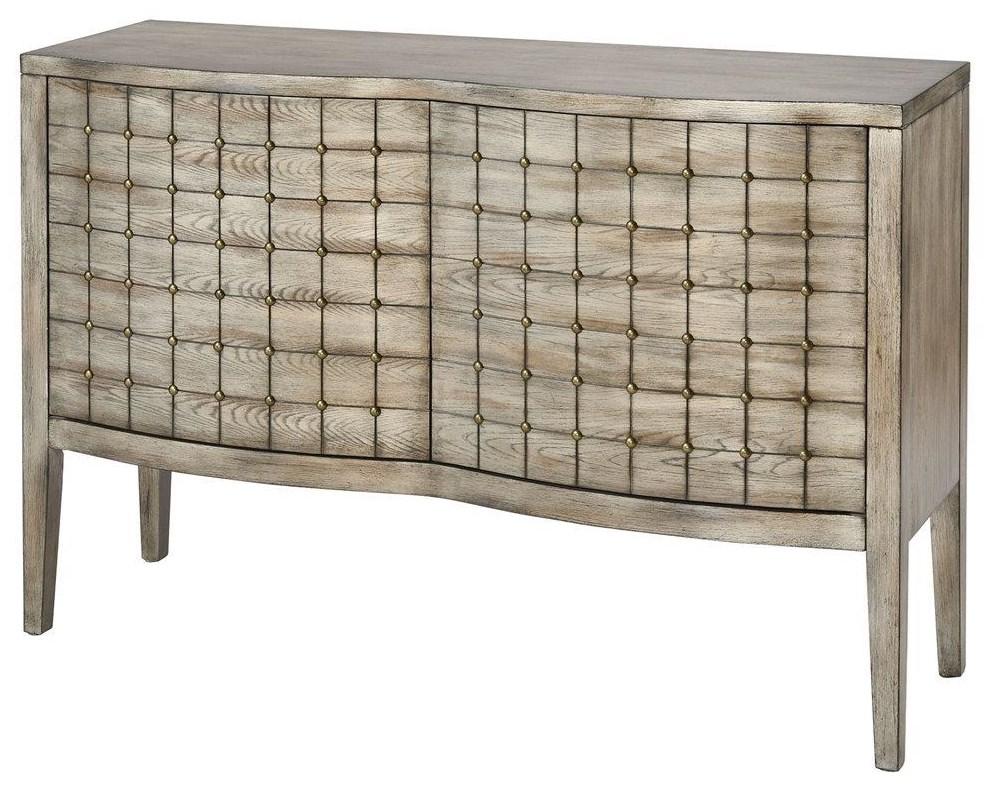 Stein World Cabinets Scanlon Rockport Grey Cabinet