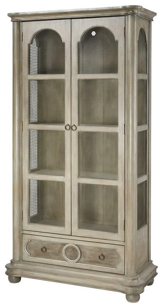 Delicieux Stein World Cabinets Leena Revere Warm Grey Display Cabinet