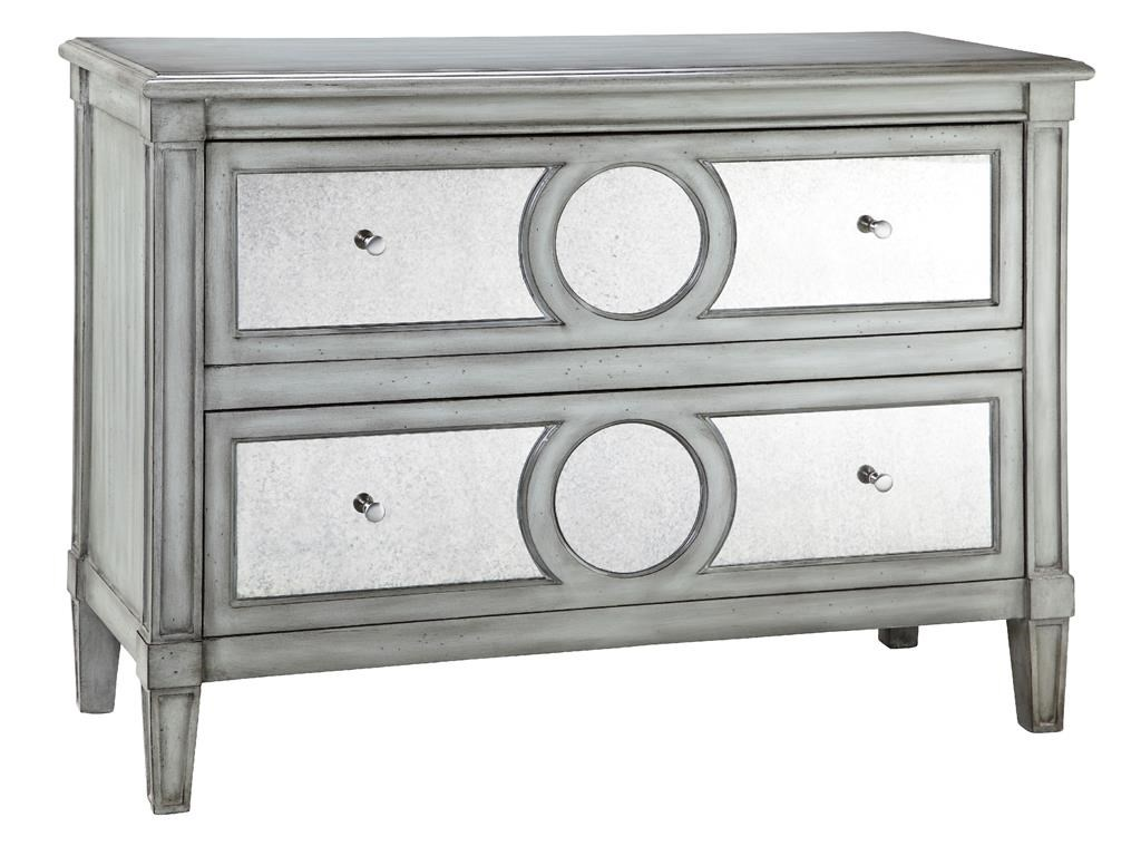 Chests Chest 2 Drawer Mirrored Front By Stein World