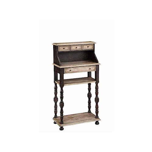 Stein World Desks Writing Desk with 4 Drawers