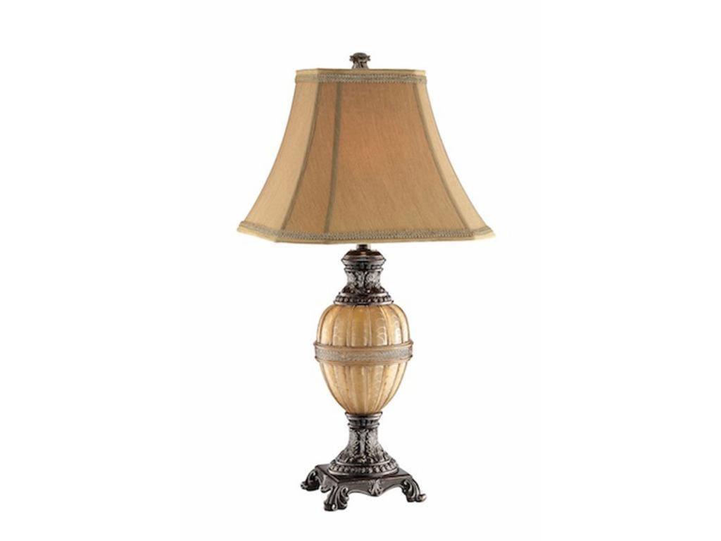 Stein World Lamps Pale Honey Globe Table Lamp Night Light