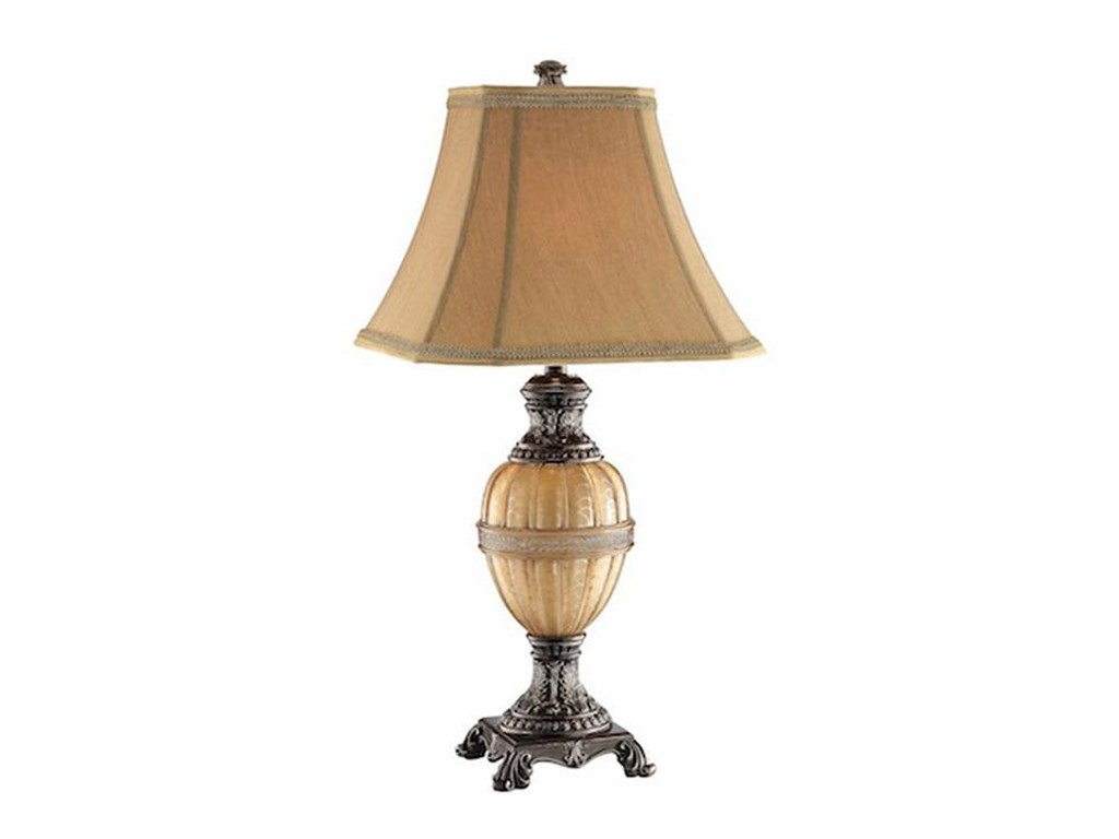 Stein World LampsPale Honey Globe Table Lamp/ Night Light