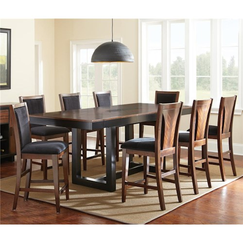 Steve Silver Julian 5 Piece Counter Height Dining Set