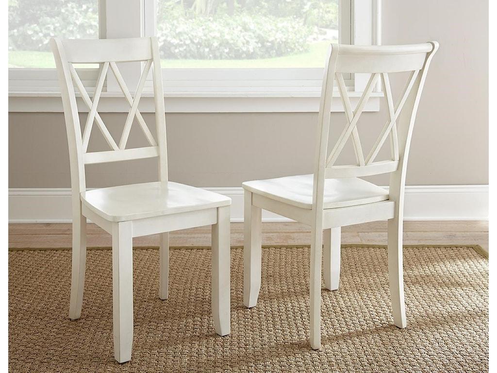 Steve Silver AidaAida Vanilla Table & 6 Chairs