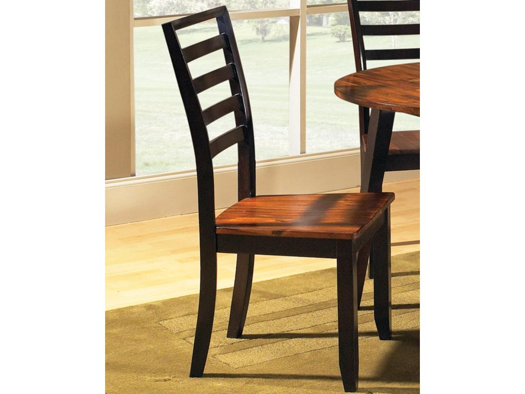Vendor 3985 AbacoLadder Back Side Chair