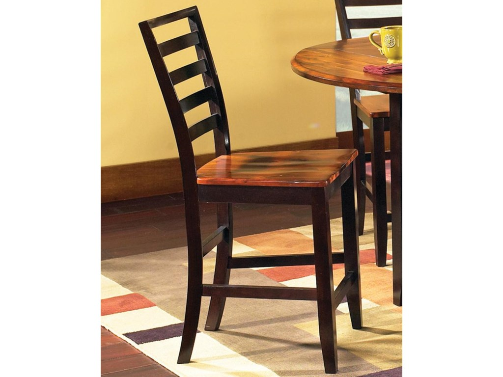 Vendor 3985 AbacoLadder Back Counter Stool