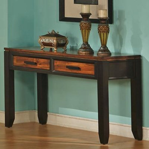 Steve Silver Abaco Sofa Table with 2 Drawers