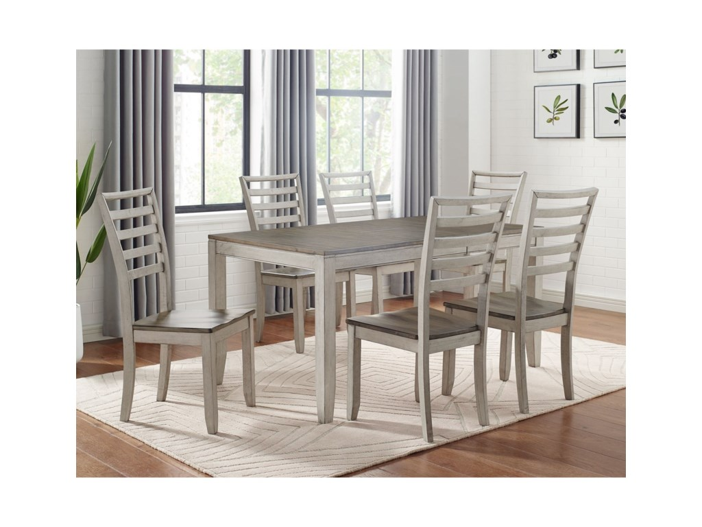 Vendor 3985 Abacus7-Piece Table and Chair Set