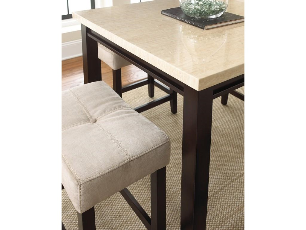 Vendor 3985 Aberdeen5 Piece Counter Table Set