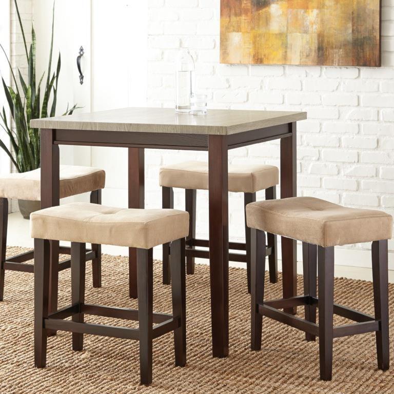Steve Silver Aberdeen5 Piece Counter Table Set