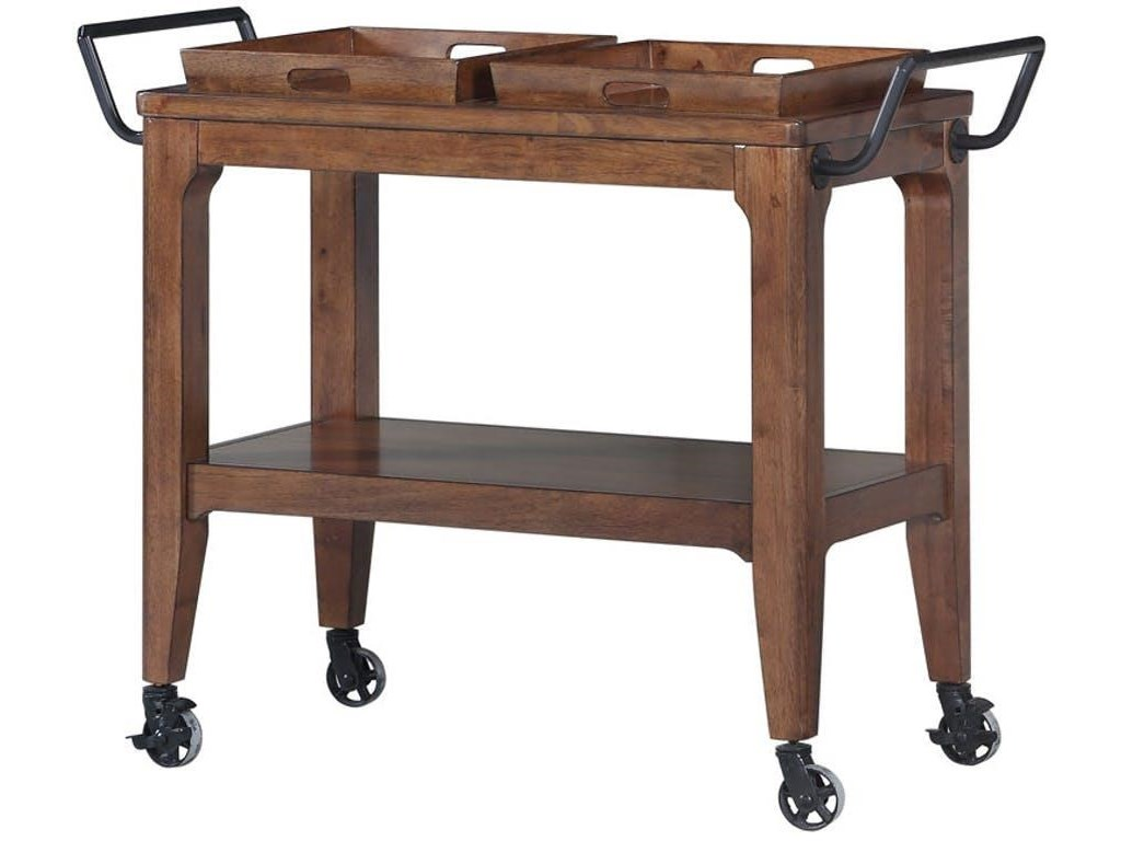 Morris Home Draper HillDraper Hill Dining Cart with Trays