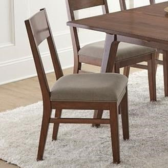 Steve Silver Adeline Dining Side Chair with Cushioned and Upholstered Seat