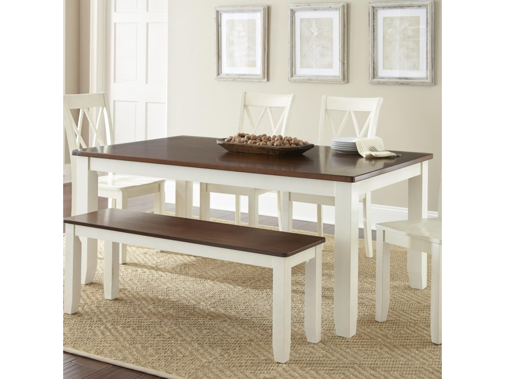 Morris Home AidaTwo Tone Table
