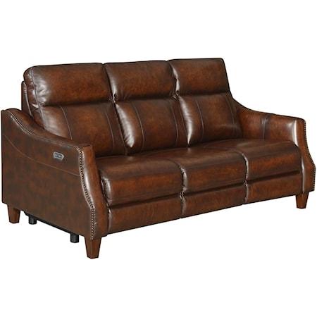 Dual-Power Recliner Sofa