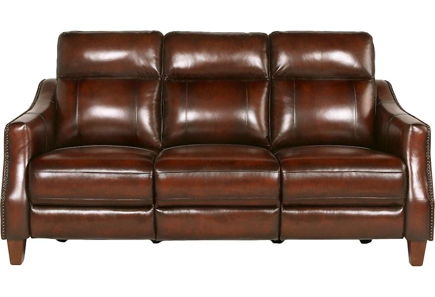 Vendor 3985 Akari Ai950cs Dual Power Recliner Sofa With Dropdown