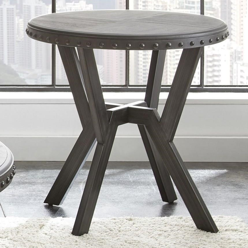 Exceptionnel Steve Silver AlamoRound End Table ...