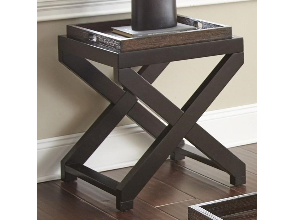 Morris Home AlanisEnd Table w/Tray