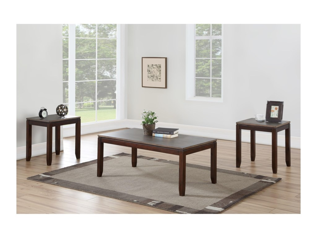 Morris Home Alba3 Pack Occasional Set