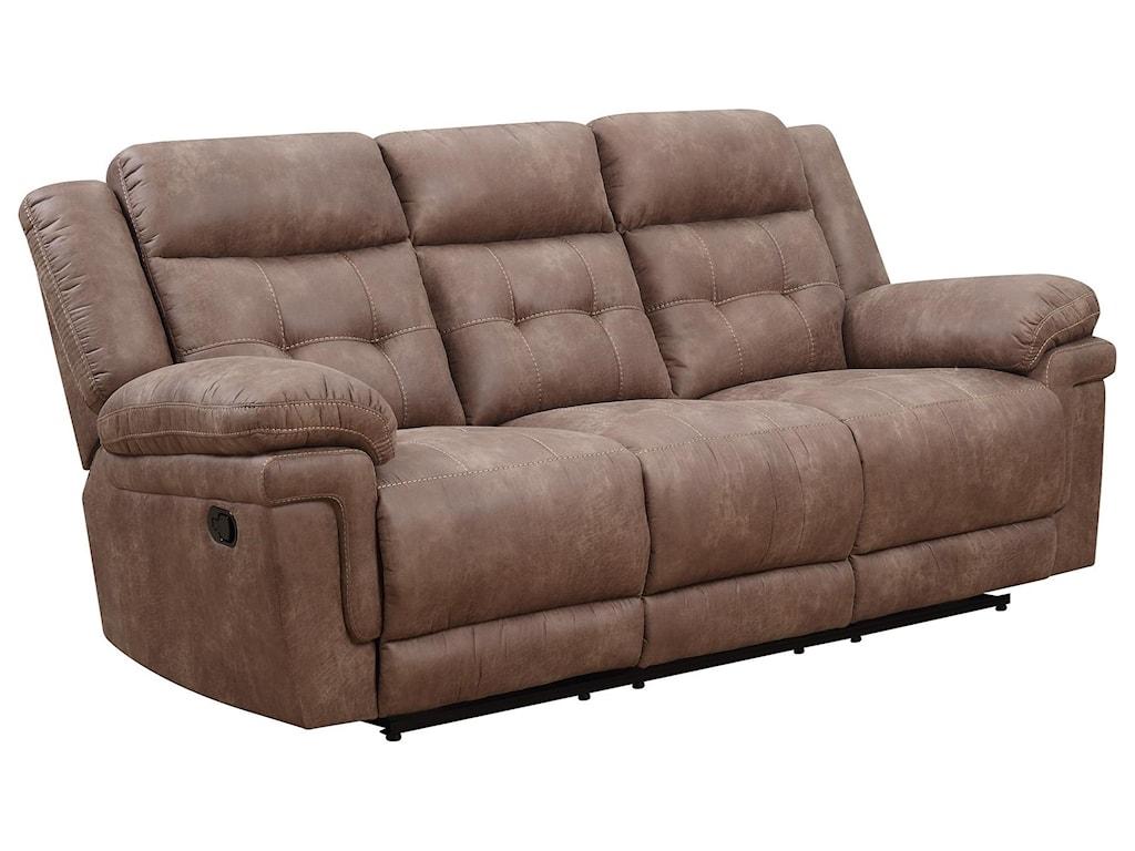 Morris Home AllanAllan Reclining Sofa