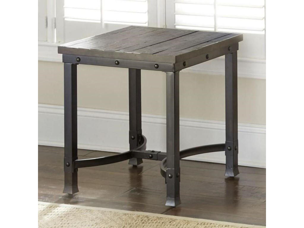 Steve Silver AmbroseIndustrial Square End Table