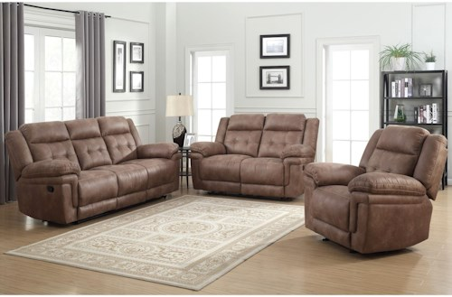 Steve Silver Anastasia Reclining Living Room Group