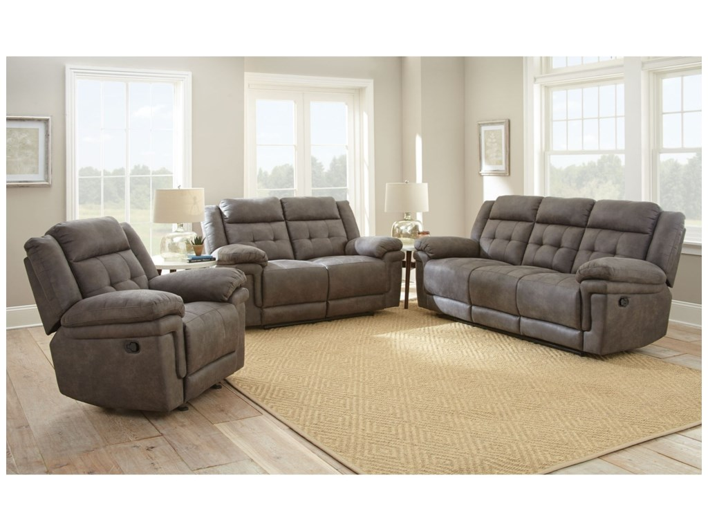 Morris Home AnastasiaReclining Sofa