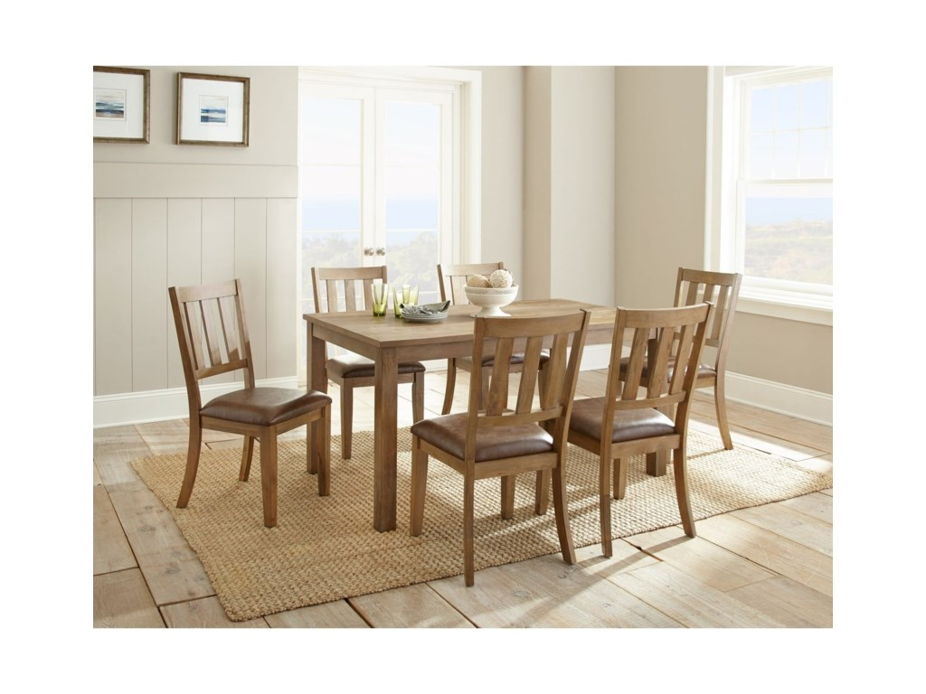 Steve Silver AnderSeven Piece Dining Set