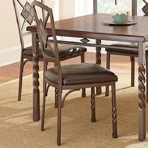 Steve Silver Annabella Dark Brown Side Chair