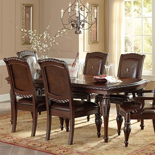 Steve Silver Antoinette Rectangular Dining Table