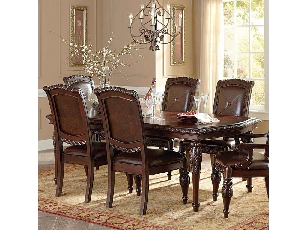 Morris Home AntoinetteLeg Dining Table