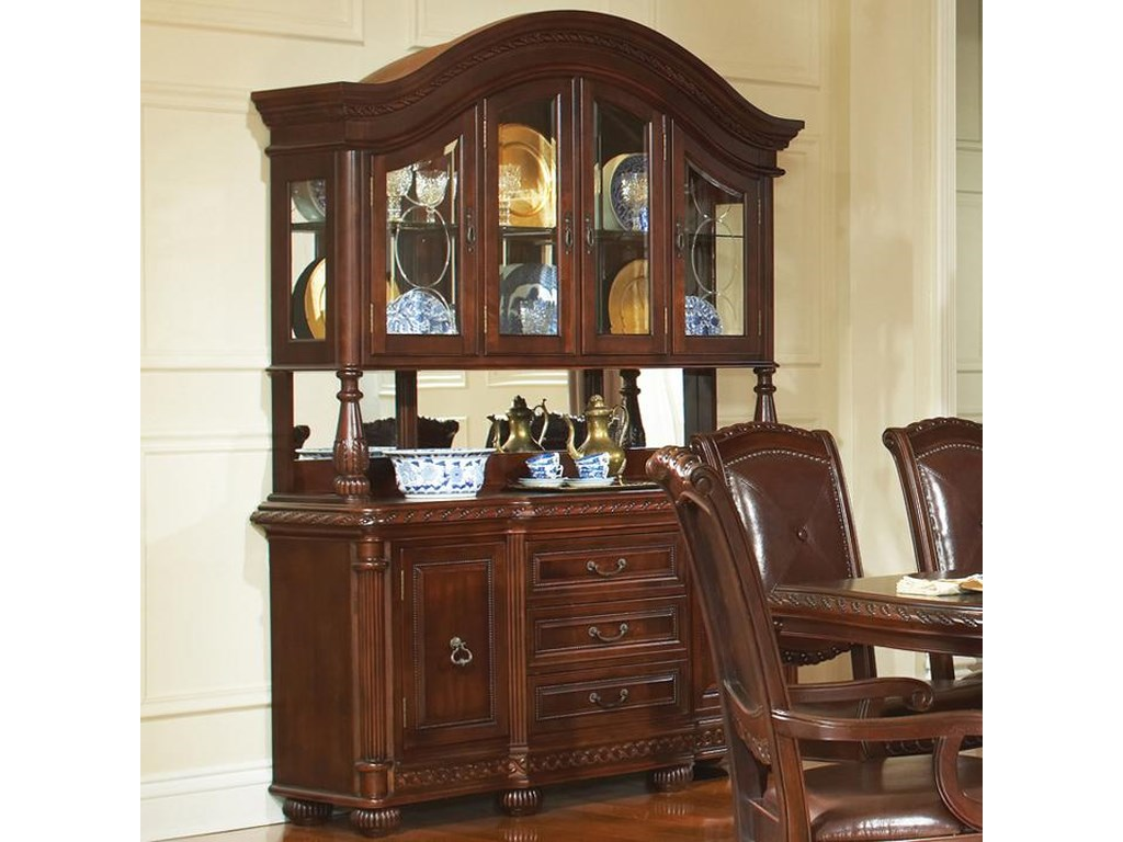 Antoinette Buffet Hutch