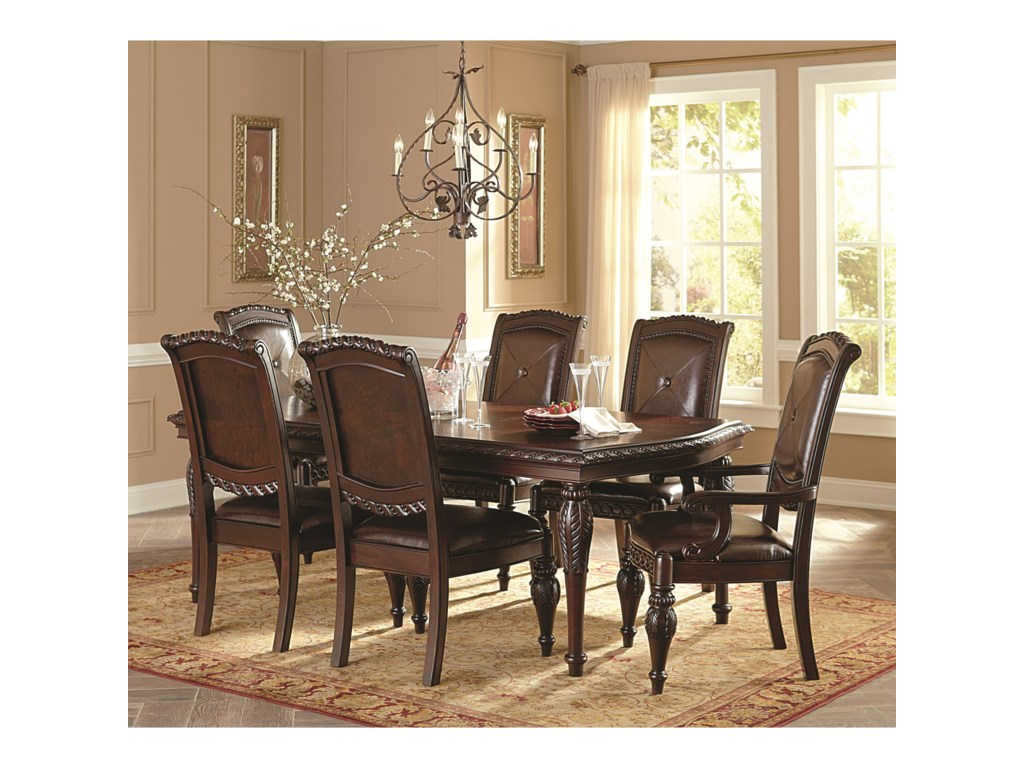 Steve Silver Antoinette7-Piece Dining Table & Chair Set