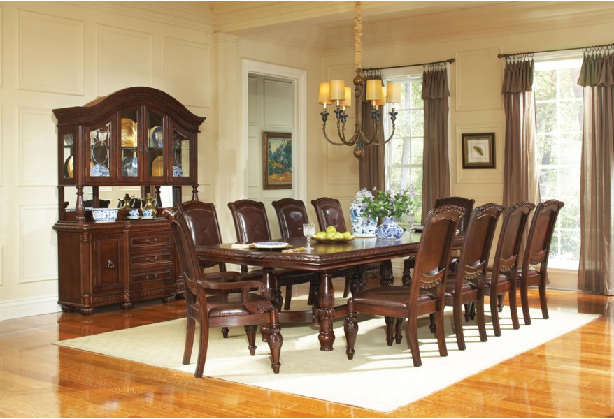 11 Piece Traditional Dining Table