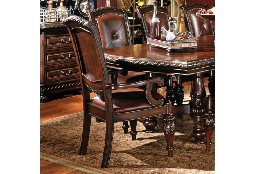 Upholstered Dining Arm Chair