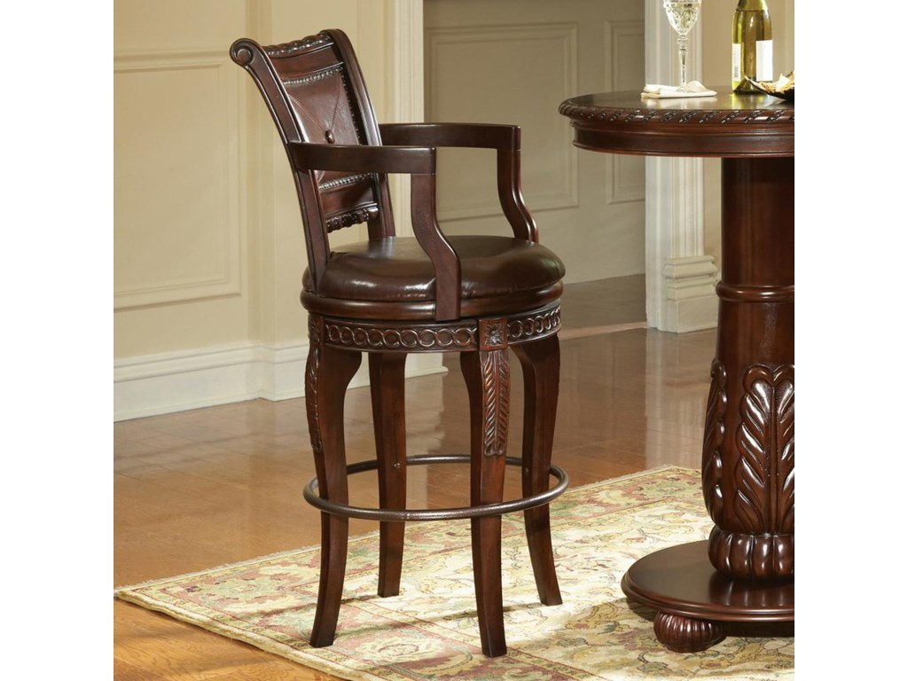 Steve Silver AntoinetteSwivel Bar Chair