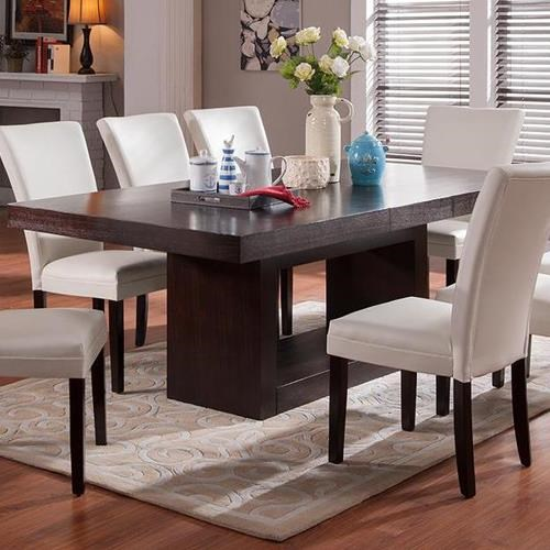antonio dining table - belfort furniture - dining room table
