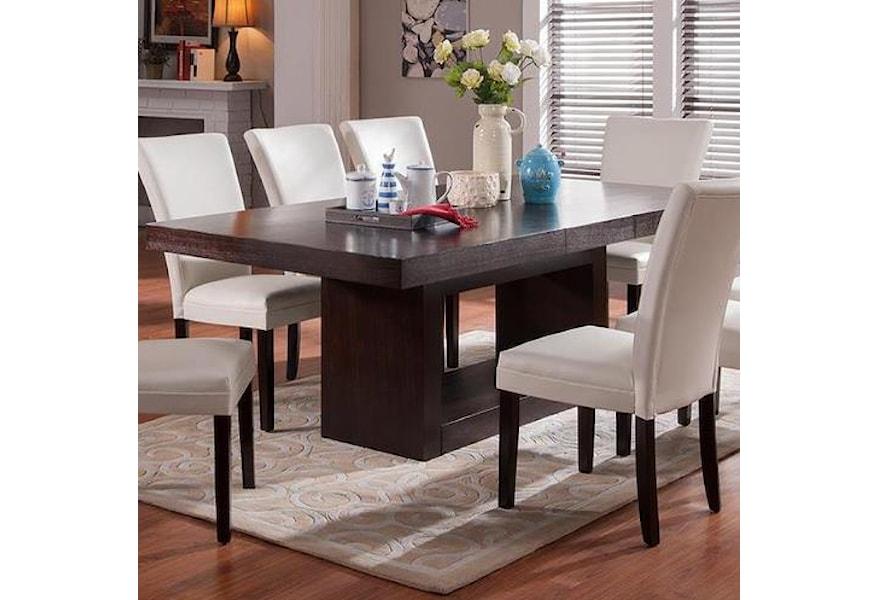 Belfort Essentials Antonio Dining Table Belfort Furniture Dining Room Table