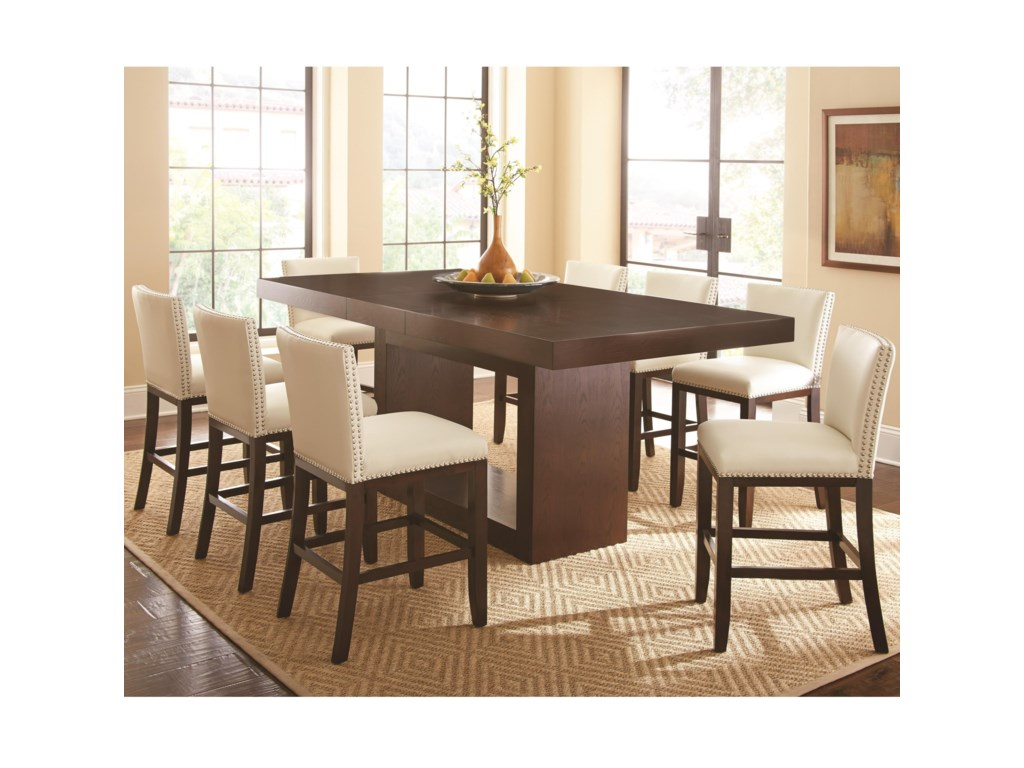 Steve Silver Antonio9 Piece Dining Set
