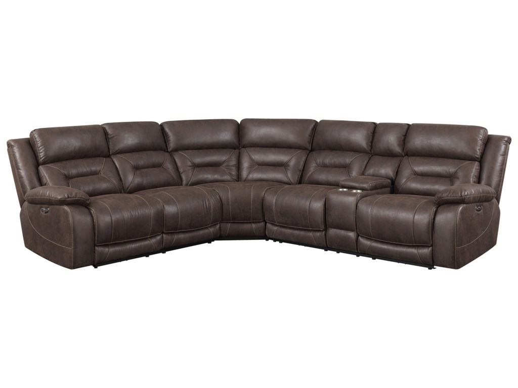 Aria 3 Piece Reclining Sectional Sofa