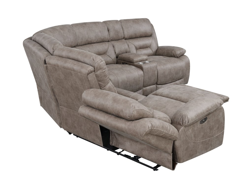 Steve Silver Aria3 Piece Reclining Sectional Sofa