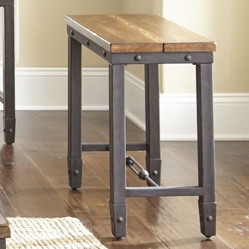 Steve Silver Ashford Industrial Chairside End Table