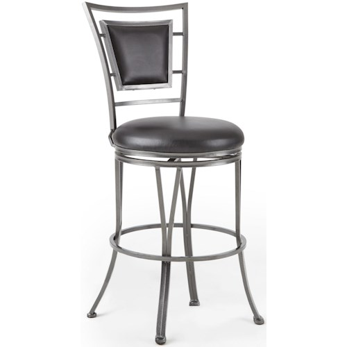 Steve Silver Atena 360° Swivel Bar Stool With Flame Retardant Seat