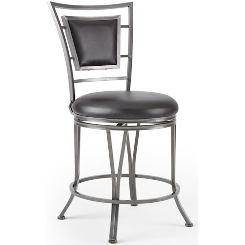 Steve Silver Atena 360° Swivel Counter Stool With Flame Retardant Seat
