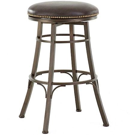 Backless Swivel Bar Chair