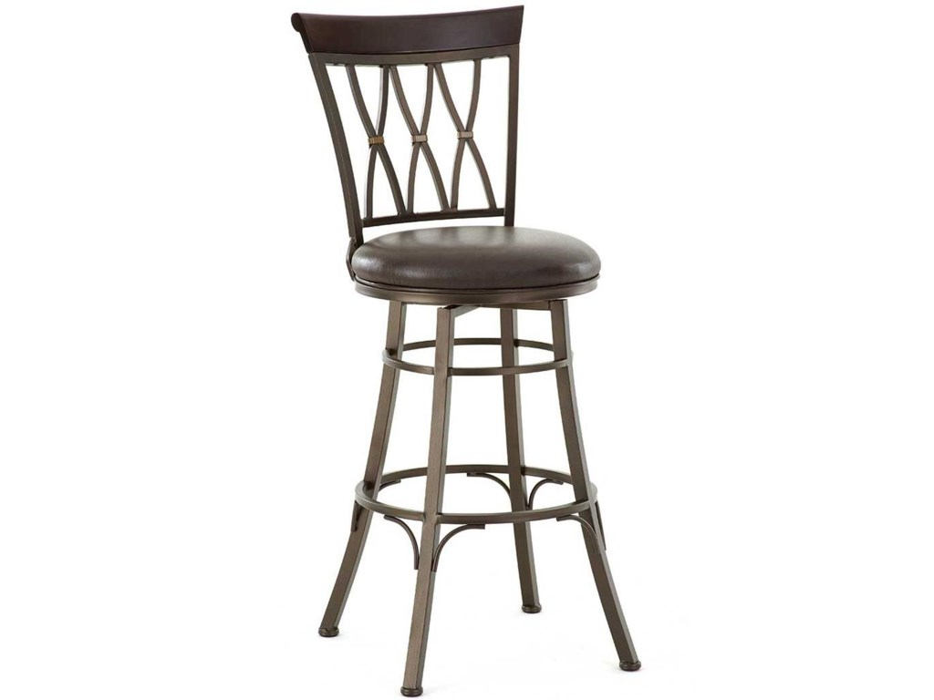 Morris Home BaliSwivel Bar Chair