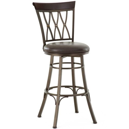 Steve Silver Bali Swivel Bar Stool with X Back Walkers  : products2Fstevesilver2Fcolor2Fbali20blbl600sbc b0jpgwidth500ampfsharpen25ampdownpreserve0amptrimthreshold80amptrimpercentpadding0 from www.walkersfurniture.com size 500 x 973 jpeg 68kB