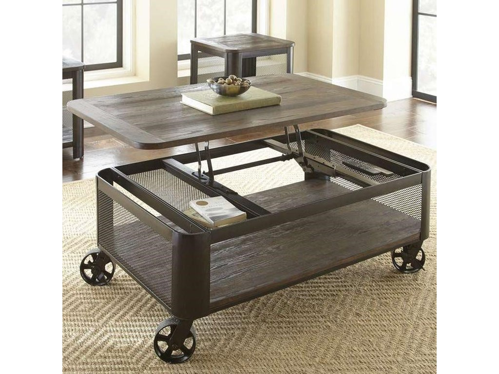 Steve Silver BarrowCocktail Table with 2 End Tables